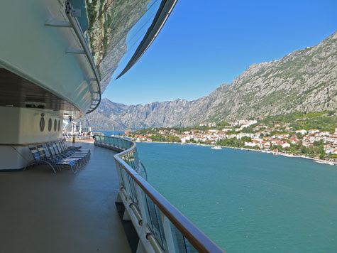 The Kotor Cruise Terminal and Port