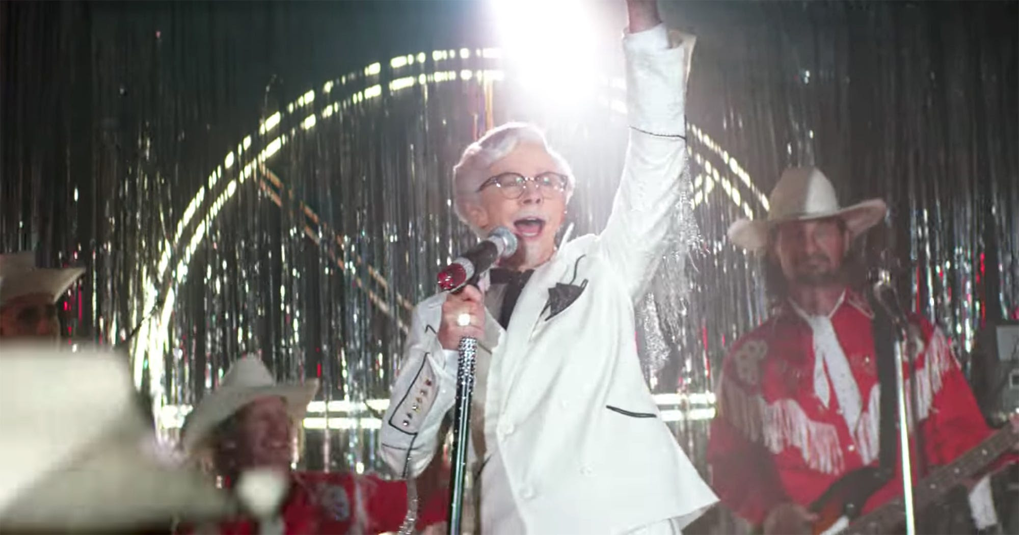 Reba McEntire First Woman Colonel Sanders KFC New Ad