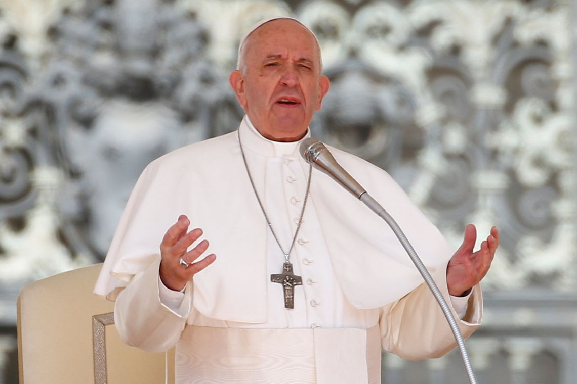 Papa Francisco fala no Vaticano