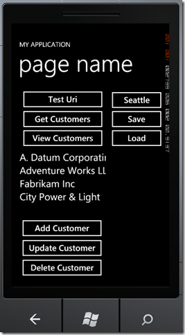 phone5 thumb Windows Phone 7 Line of Business App Dev :: Working with an In Memory Database
