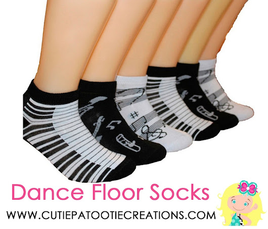 Dance Floor Party Socks - Music Piano Pattern Socks - Musical Notes
