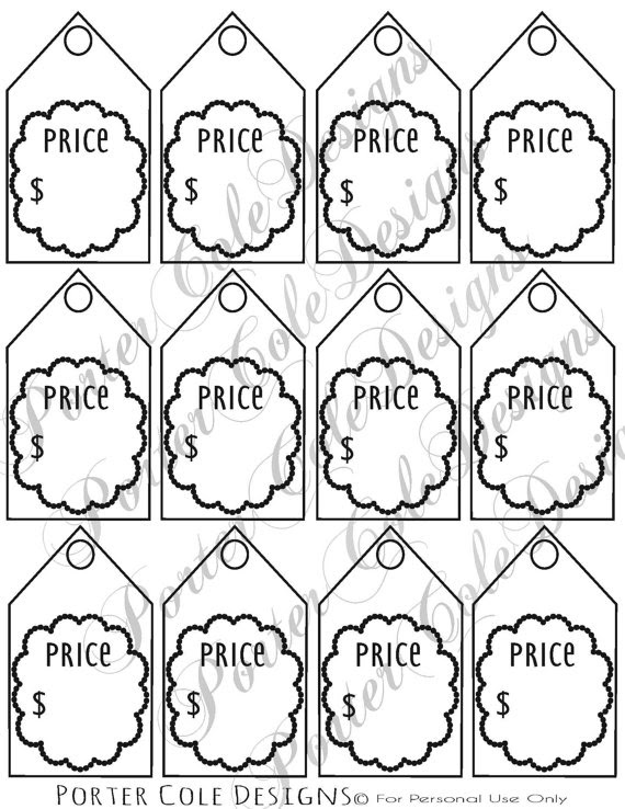 Download 8 Best Images of Price Tags Printable - Coloring Pages, Free Printable Price Tags Labels ...