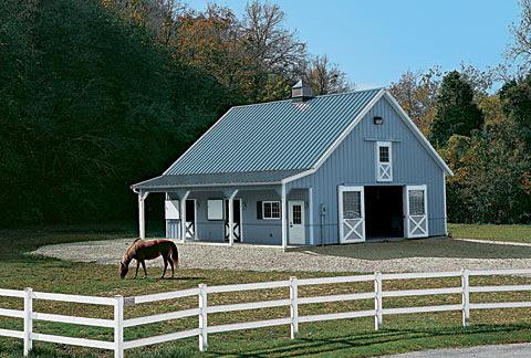 Building A Horse Barn