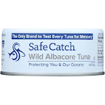 Safe Catch - Tuna Wild Albacore - Case Of 12 - 5 Oz