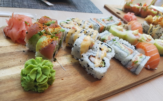 Ben Wei - Sushi at its best. Trust me. - Pretty Please Charlie