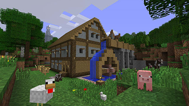 Top Five Minecraft Castle Seeds Xbox One - Circus