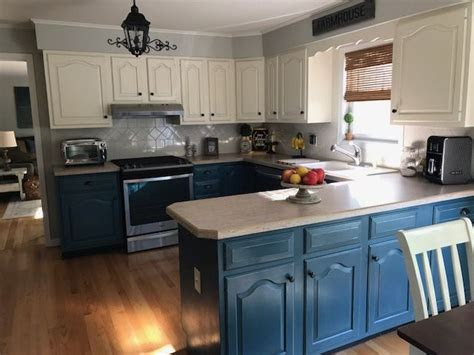 painting kitchen cabinets  chalk paint  annie sloan