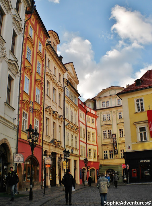 Visit around the Old Town Square in Prague, Czech Republic