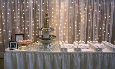 Ideas of Bridal Shower Decorating with Tulle   WeddingElation