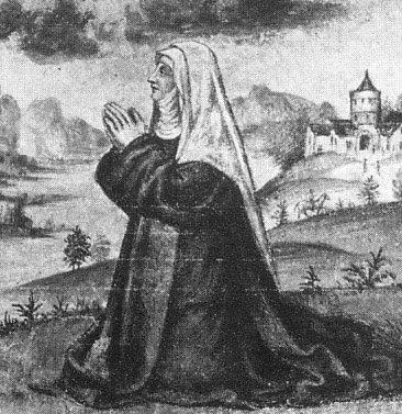 Supposto ritratto di suor Arcangela Panigarola