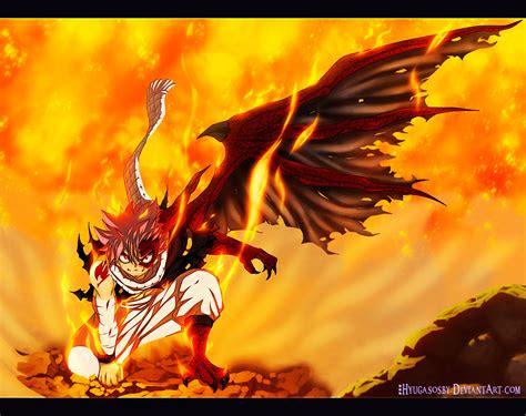 fairy tail  natsu dragozine  hyugasosby daily anime art