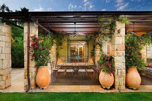 patio mediterranean patio