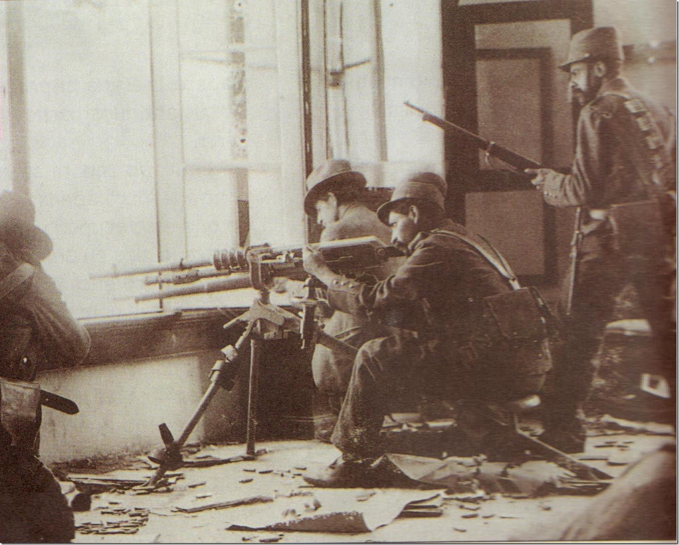El ejército federal y la caída de Madero