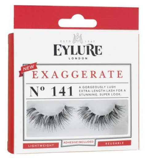 Eylure Exaggerate 141 Lashes   Boots   Lashes   Eylure