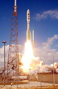 New Horizons at liftoff