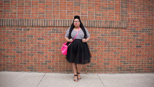Fashion Blogger Spotlight:  Sierra of Eclectic Kurves | The Curvy Fashionista