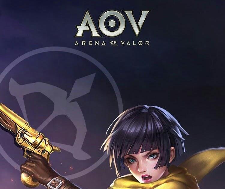 Wallpaper Hero Aov Full Hd Violet Color Blast | Topbackground