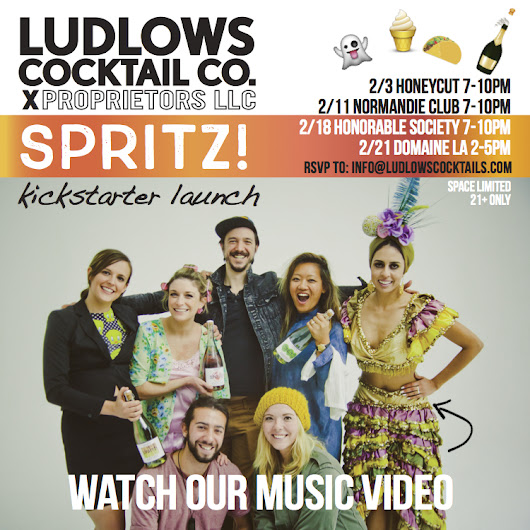 Ludlows Cocktail Co wants to change your life with Spritz