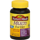 Nature Made Multi For Her with Iron Tablets - 90 count bottle