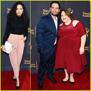 Chrissy Metz & Boyfriend Josh Stancil Have Date Night At Television Academy Music Celebration!