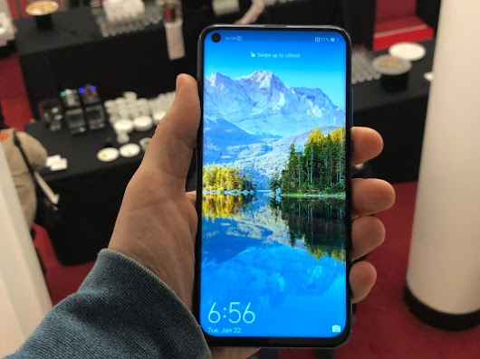 Huawei Honor's smartphone with a hole-punch display is real