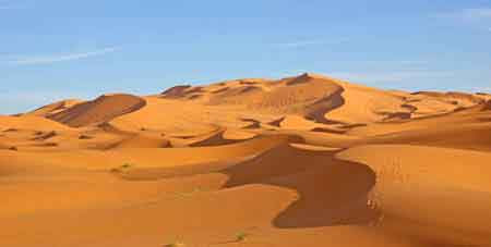 dunes de Merzouga - sud du Maroc