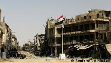 Irak Zerstörung in Mos   sul
