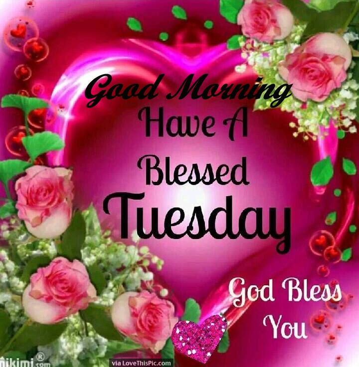 Good Morning Have A Blessed Tuesday God Bless You Pictures Photos
