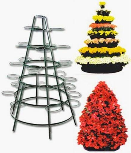 35+ Desain Rak Pot Bunga Dari Besi, Paling Baru!