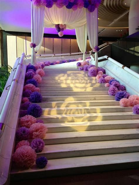 77 best wedding stairs decor images on Pinterest   Wedding