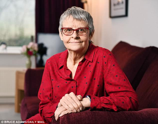 Wendy Mitchell (pictured), 62, who has written a bestselling memoir about living with Alzheimer's, said the 'defeatist' language used by medical staff causes the condition of patients to deteriorate