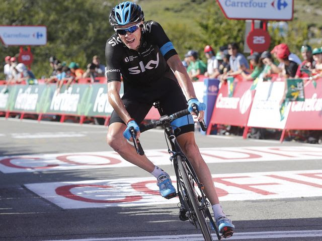Froome: Riding well under pressure