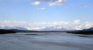 Susitna River from Denali Highway, Alaska