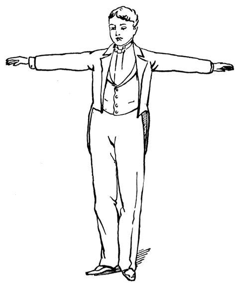 man standing clipart