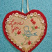 Old fashioned Birdy Valentine