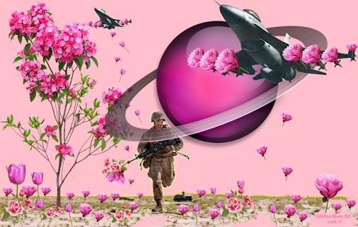 Art: Planting Peace - Plantando a Paz. Concluída dia 20/03/2.018.  #art #digitalart #digitalcollage ...