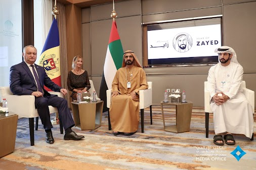 Toyeen B's World: Photos: Dubai King today receives the Moldovan President & World Bank President #W...