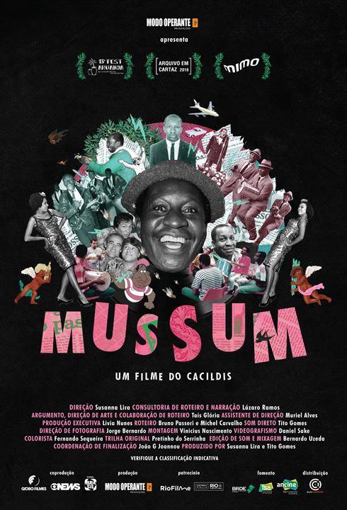 Mussum, um Filme do Cacildis : Poster