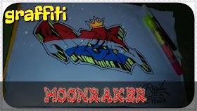 Graffiti Moonraker Keren