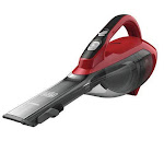 BLACK+DECKER Dustbuster Lithium Cordless Hand Vacuum 2.0 Ah Chili Red- HLVA320J26