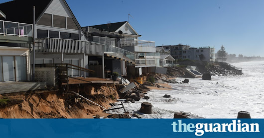 Are seawalls the best answer to rising sea levels – or is retreat a better option? | Guardian Sustainable Business | The Guardian