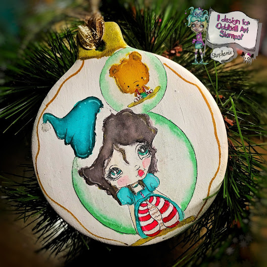 Ornament Tutorial | Oddball Art Stamps