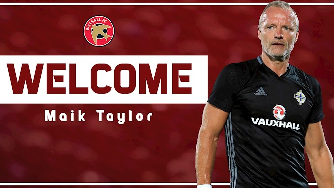Maik Taylor Named as Walsall's New Goalkeeping Coach