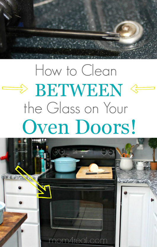 A step-by-step tutorial showing how to clean that area in between the glass on your oven doors.