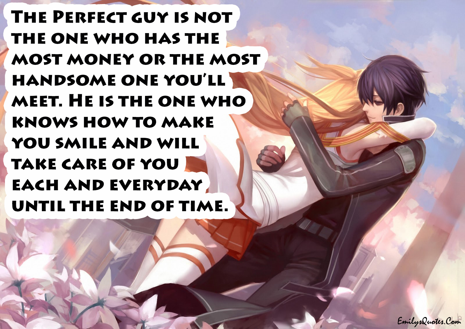 The Perfect Guy Is Not The One Who Has Popular Inspirational