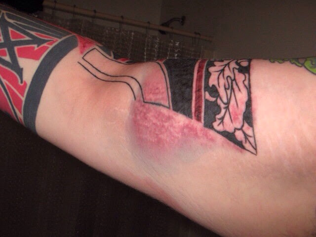 6 Steps How To Treat An Infected Tattoo Take In Consideration 2018