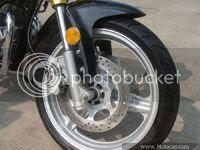 Foto discos duplos da Kahena 250 Dual