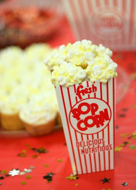Popcorn Cupcakes Minis