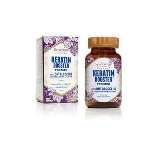 Google Express Reserveage Organics Keratin Booster For Men With Dht Blockers F S