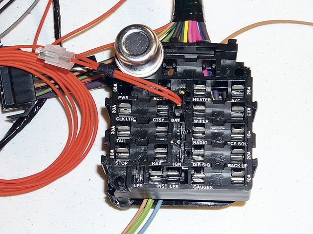 69 Camaro Fuse Box Wiring